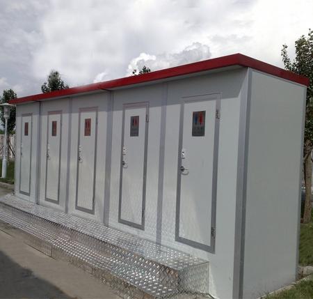 彩钢板厕所