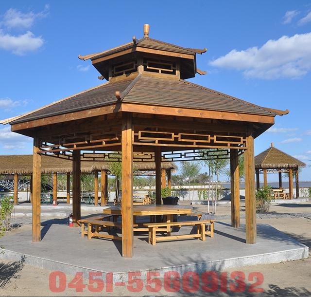 哈尔滨木凉亭