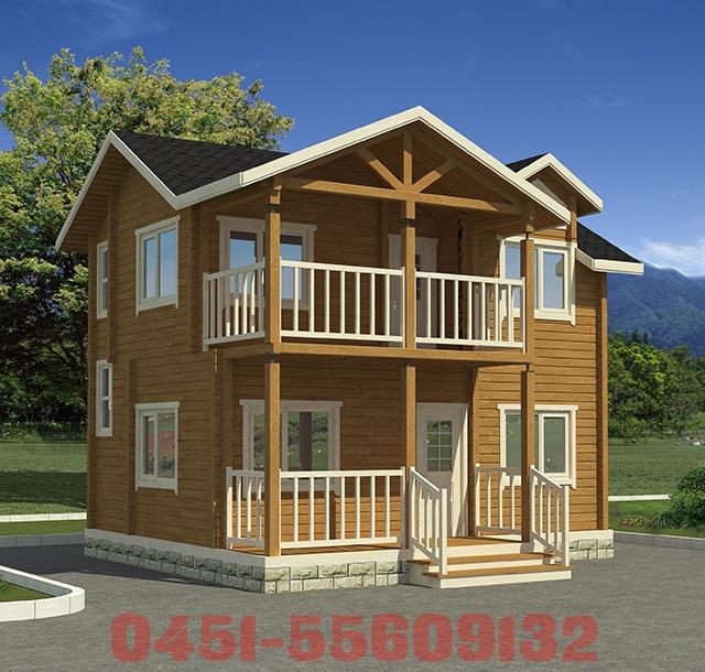 木刻楞房屋