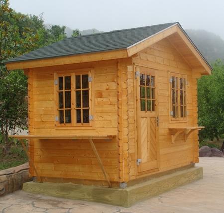 黑龙江小木屋