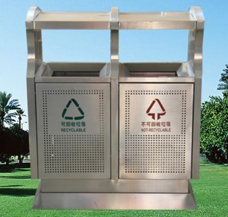 黑龙江不锈钢垃圾箱