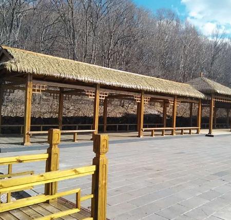 黑龙江木制廊架