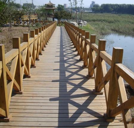 黑龙江木护栏