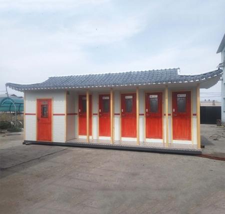 哈尔滨水冲生态厕所