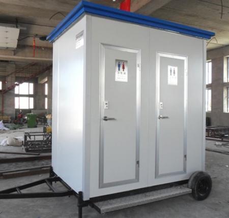 彩钢板拖挂厕所