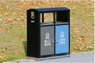 新型二分类垃圾桶
